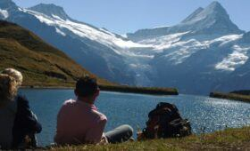 How to Enjoy Your Travel - Mountain and Lake