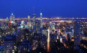 1 Day Montreal Itinerary - Montreal Skyline