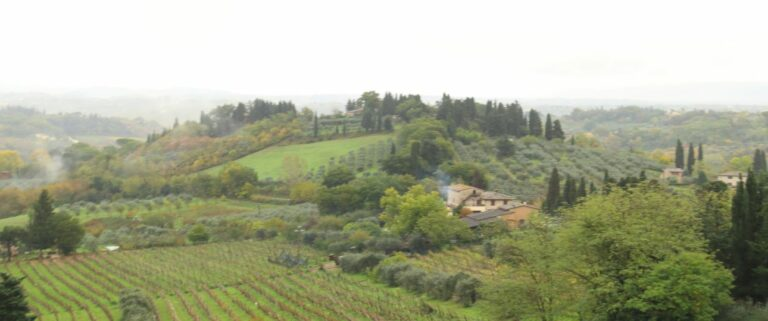 How to Experience Tuscany - Rolling Hills