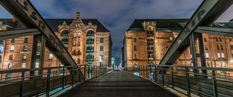 Learning Photography for Beginners - Bridge Leads To Building