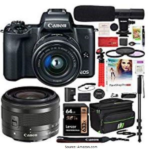 Best Digital Camera for Beginners - EOS M50 Bundle