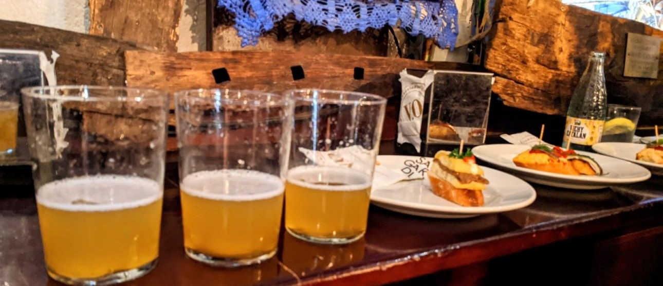 Best Tapas Tour of Barcelona - Cider and Pintxos