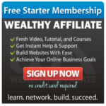 Wealthy Affiliate Review - WA Starter
