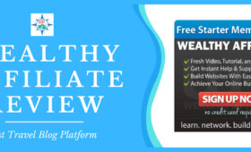 Wealthy Affiliate Review - Best Travel Blog Platform