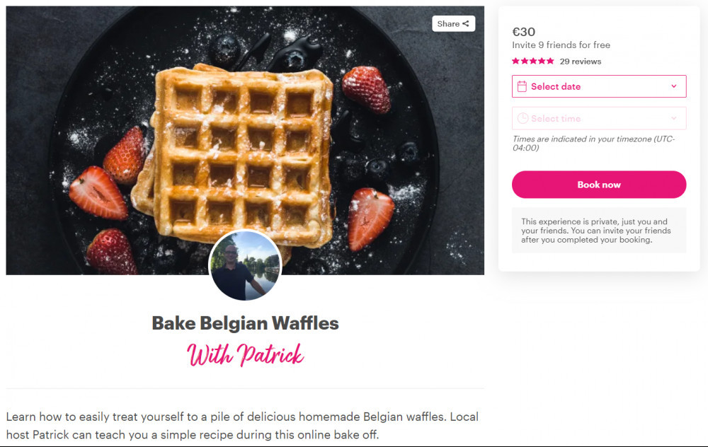 How To Connect Online With - Local Travel Hosts - Belgian Waffles