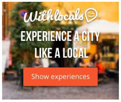 How To Connect Online With - Local Travel Hosts - Withlocals banner