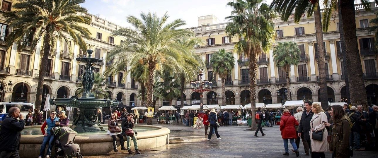 Attractions in Barcelona Spain - Square