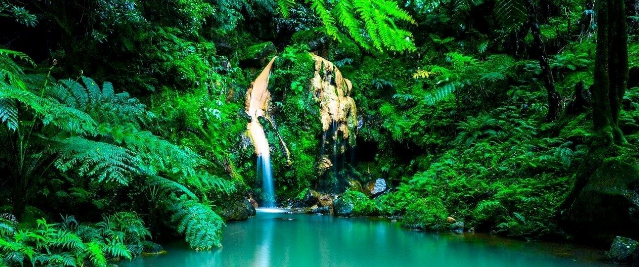 The Best Places to Travel in Europe - Azores Waterfalls
