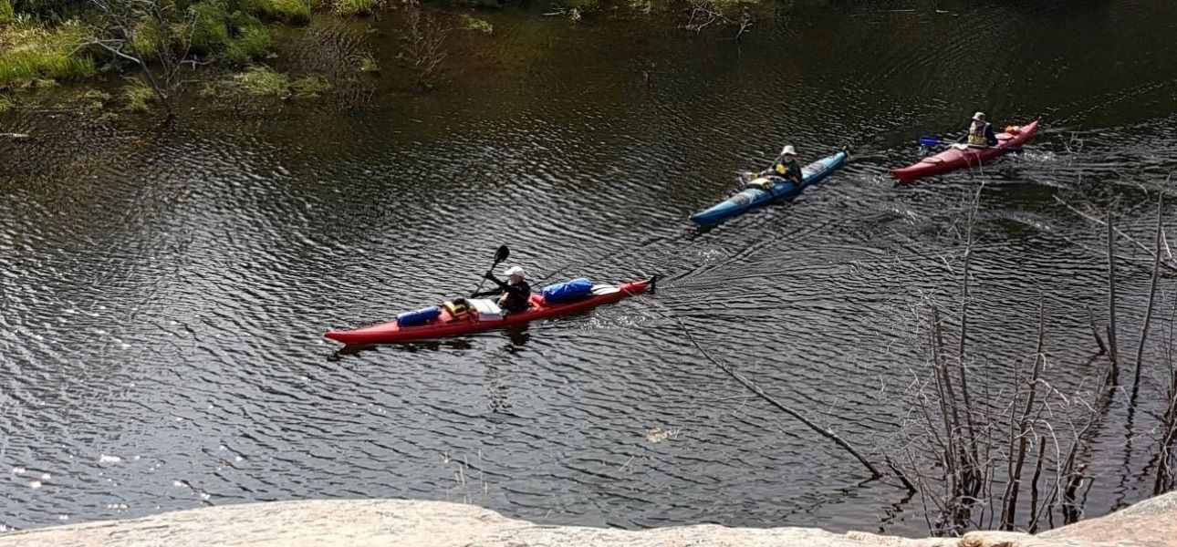 Best Places To Stay In Killarney - Kayaking at Killarney