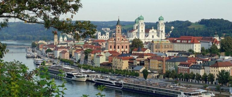 What's in Passau Germany - Passau by the River