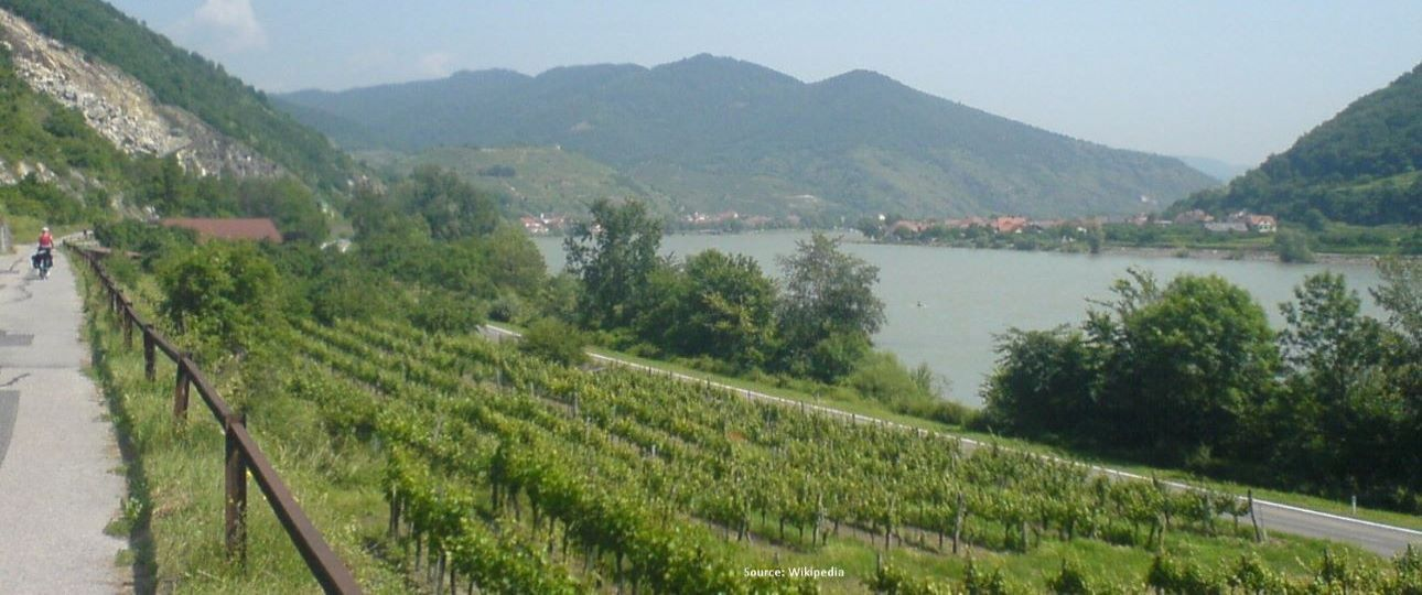 What's in Krems Austria - Danube Cycle Path